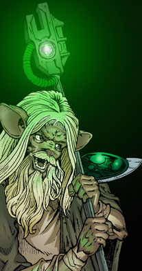 Myrddin the Wizard Old